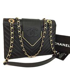 New 2017 CHANEL V Stitch Chevron CC Logo Leather Chain Shoulder Bag /b425