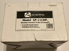 Audiovox 10 Cd Changer Remote Controlled Sp-11Cdp Brand New In Box Digital
