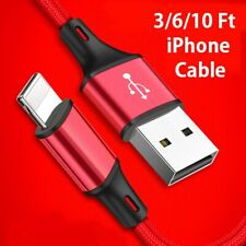 Fast Charger USB Charging Cord Lightning Cable For iPhone 6 7 8 X Xr Xs 11 Pro