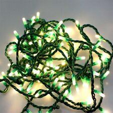 100 LED Lichterkette 10m WARM WEISS 8 Prog aussen