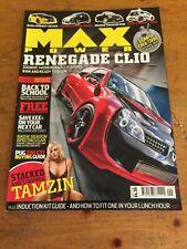 Max Power Magazine September 2008. Renault Clio
