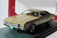 BUICK RIVIERA MKII BEIGE METAL 1970 NEO 44728 1/43 BROWN ROOF LIMITED EDITION