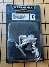 40K Rare Oop Metal Black Templar Captain Draco Metal Blister Pack NIB 09 Promo