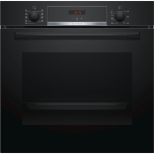 Bosch Serie 4 Multifunction Electric Single Oven - Black