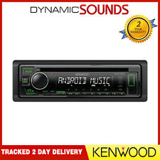 Kenwood KDC-130UG CD MP3 USB RDS Radio Stereo Android Ready Green Illumination