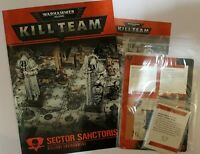 Kill Team Killzone Sector Sanctoris rules and cards
