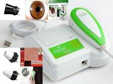 New 3 in 1 Iriscope & Skin & Hair Diagnosis Scope Analyzer& w/Lens & Software