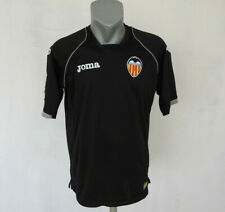 Valencia CF 2011 - 2012 Away Jersey Joma Shirt Black Size L Football / Soccer