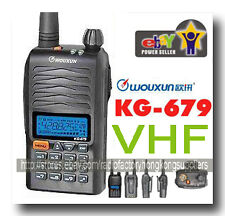 Wouxun kg-679 136-174 MHz 2-way Radio VHF Free Earpiece