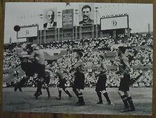 Photo Football Dynamo Moscou,URSS vers 1930,  25 x 35 cm