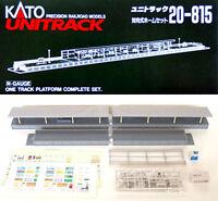 Kato 20-815 One Track Platform Complete Set (N scale)