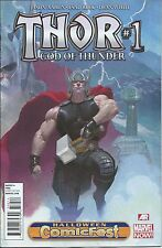 THOR GOD OF THUNDER 1 NM HCF GIVEAWAY PROMO NYCC VARIANT HALLOWEEN COMICFEST