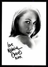Minnie Driver Autogrammkarte  u.a. Good Will Hunting  + G 6565 D