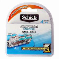 Schick Quattro 4 Titanium Refill Razor Blade - 4 Cartridges