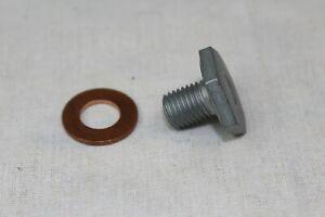 Oil Drain Plug M10x1, 25+ Gasket Ford Diesel Engines 1146063 +1145962