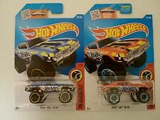 2016-Hot Wheels-2 Olds 442 W-30 4 Wheel Drive-2 Different Colors-1:64-Boys-3+