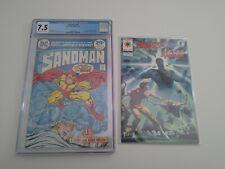 DC Vertigo SANDMAN 1 CGC 1974 Bronze Joe Simon Jack Kirby Graded Comic Slab