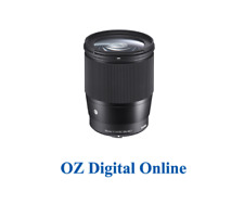 New Sigma 16mm F1.4 DC DN|Contemporary (M4/3) Lens 1 Year Au Warranty