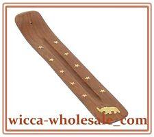 "Wholesale 1 One Elephant Wooden Incense Burners Ashcatchers 10"" Free Shipping"
