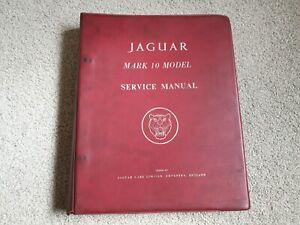 Jaguar Mark Mk 10 Genuine Service Workshop Repair Manual