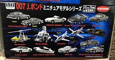007 JAMES BOND MINIATURE MODEL SET KYOSHO JAPAN ASTON MARTIN BMW LOTUS ESPRIT