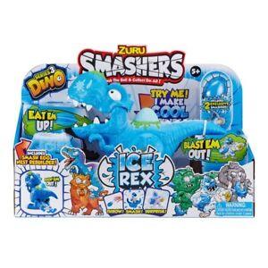 Zuru Smashers Dino Ice Age Ice Rex Playset Egg Smash Crusher Open Mystery Smash