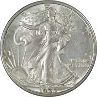 1935 S 50c Liberty Walking Silver Half Dollar US Coin AU About Uncirculated