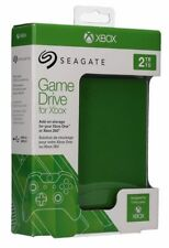 2Tb External XBox One/360 Game Drive HDD/HD Hard Disk Drive Green Portable USB 3