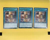 MAGO-EN103 Union Hangar1st Edition Rare YuGiOh Trading Card Gold Title TCG
