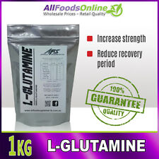 L-Glutamine - All Food Supplements - Pure - 1kg