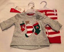 Baby - Christmas - 2pc Set - Stocking Design - Newborn - Brand New