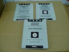 1999 Dodge Ram Van B150 B250 B350 Wagon CNG service shop repair dealer manual