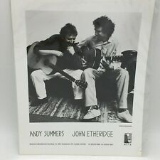 Andy Summers And John Etheridge Invisible Threads Cover Photo