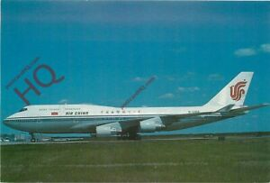 Picture Postcard: AIR CHINA BOEING 747-400 B-2458