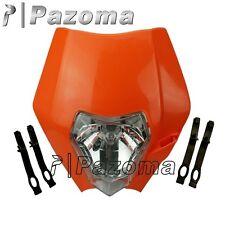 KTM ORANGE HEADLIGHT ENDURO ROAD LEGAL SX EXC XCF SXF Streetfighter lamp Fairing