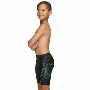 Speedo Boys Lazerbeam Jammer - Black & Lazerbeam, Boys Speedo Swimwear