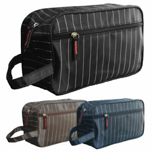 TOILETRY BAG - WASH BAG - TRAVEL BAG - COSMETIC CASE - ACCESSORIES ORGANIZER NEW