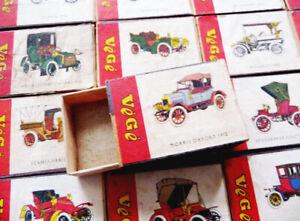 Hors CINEMA - Collection 60 boîtes d'allumettes série VEGE ROUGE