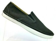 Sperry Top-Sider Cruz Slip On Black Canvas Casual Boat Deck Shoes 10180 Mens 9 M
