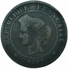 COIN / FRANCE / 5 CENTIMES 1877   #WT19552