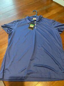 Women's Golf Shirt  **Large/NIKE/New w/Tags/Dri-Fit/Blue/MINT**