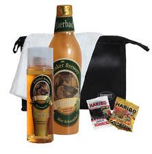 BRUBAKER Men's Beer Shower & Bath Gift Set With Emergency Ration Sugar (6 Pcs.)