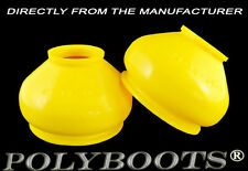 2x Polyboots Polyurethane Ball Joint Boots and Tie Rod End Dust Boot 21x42x38 mm