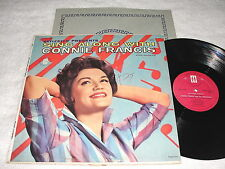 """Connie Francis """"Sing Along With..."""" 1961 Pop LP, VG+, Original Mati-Mor Pressing"""