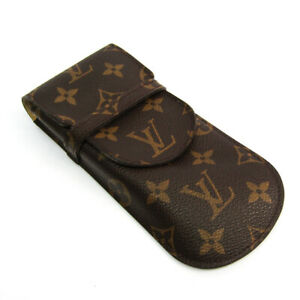 Louis Vuitton Monogram Etui A Lunettes Rabat M62970 Soft Eyeglass Case, BF521010