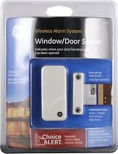 Wireless Alarm System Door Sensor Home House GE Choice Alert Alarm Sensors NEW