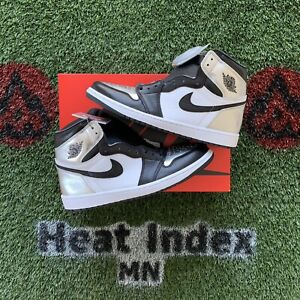 "Air Jordan 1 High OG ""Silver Toe"" - Size 12W/10.5M"
