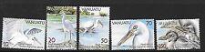 Vanuatu SG989/93 2007 Reef gli Aironi Gomma integra, non linguellato