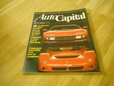 AUTOCAPITAL - IN PROVA LA NUOVA 512 TR - N. 1 - GENNAIO 1992   - (STUDIO)