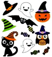 20 water slide nail Diy Manicure Halloween friends w candy   #6 decals trending